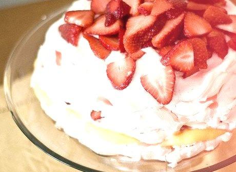 Strawberry, Cake