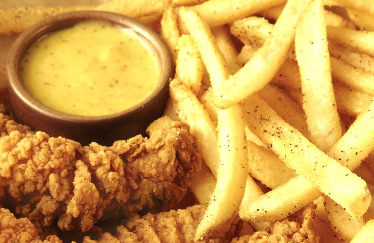 Chicken, Fries