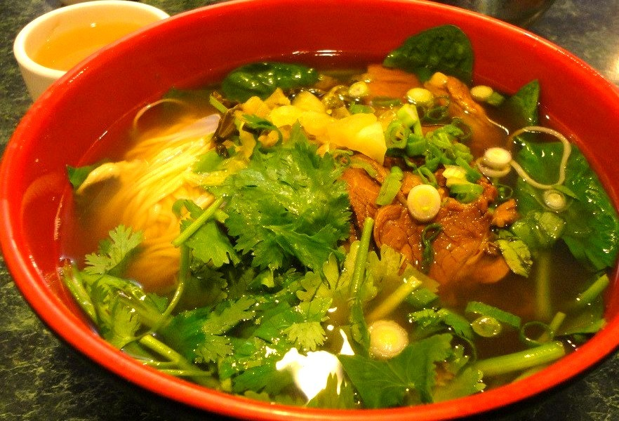 Beef Noodle Soup (by Taylor McConnell)