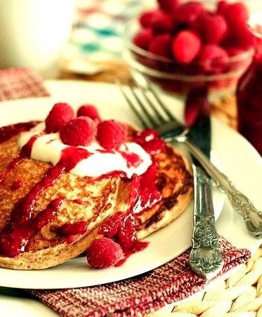 Raspberry, Pancake