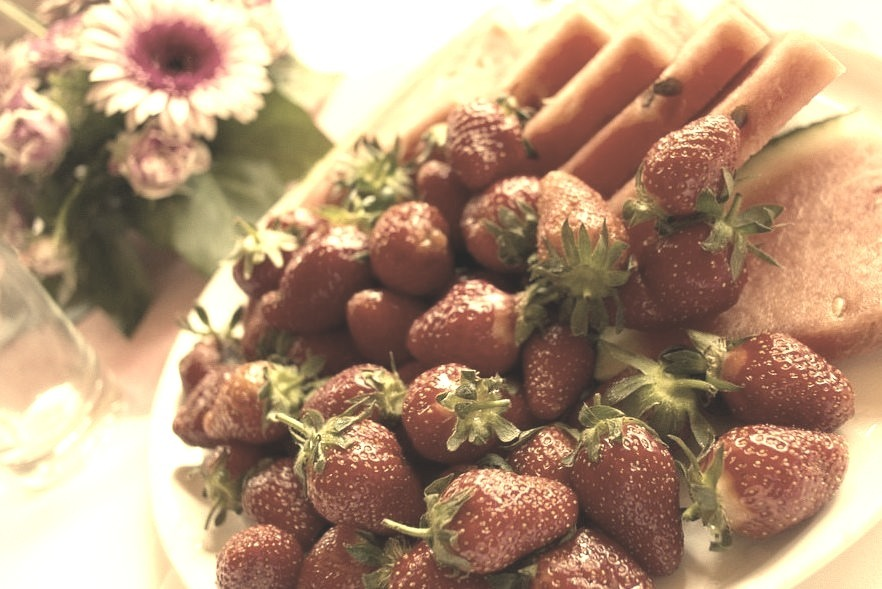 Red Fruit Platter