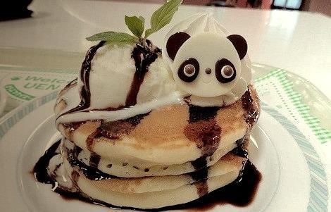 Panda Hot Cakes (by Sayuri)