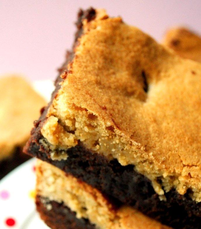 Recipe: Blondie Covered Brownies