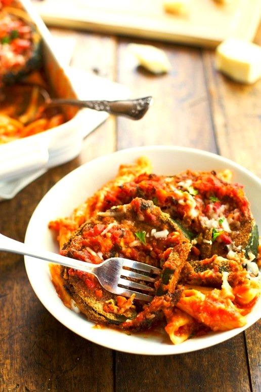 Baked Zucchini Parmesan