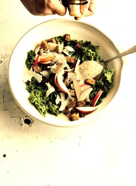 Kale Salad Suvi Sur le Vif