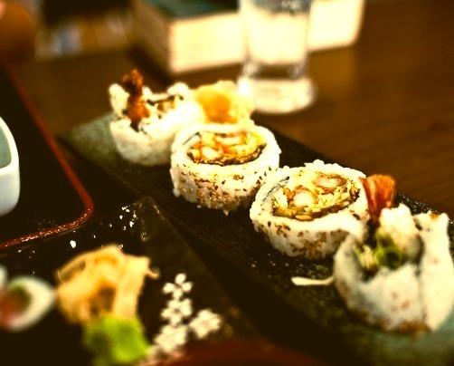 shrimp sushi rollfollow me on tumblr for mure sushi pics
