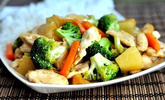 Teriyaki Chicken Stir Fry