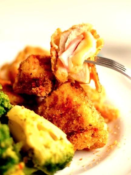 Cordon Bleu Chicken Nuggets