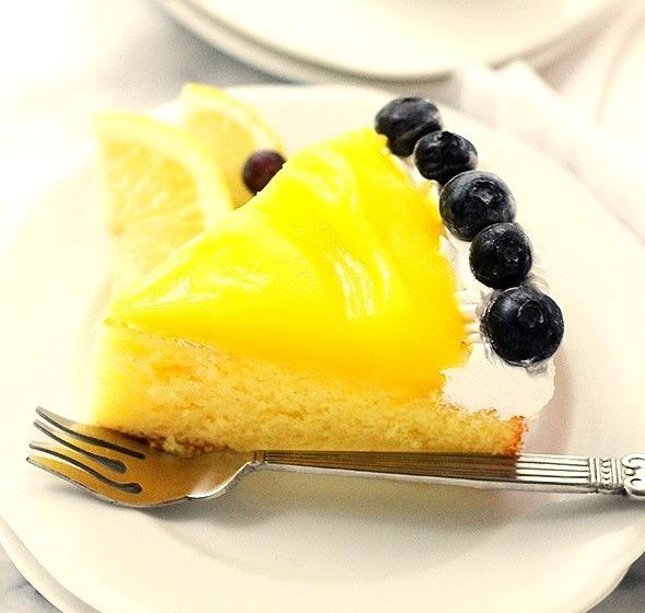 Lemon Curd-Topped Lemon Cake Recipe here