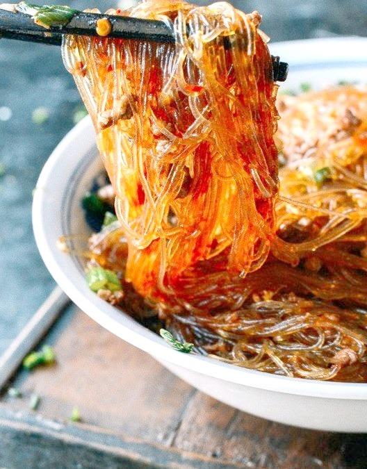 Ma Yi Shang Shu Spicy Glass Noodles