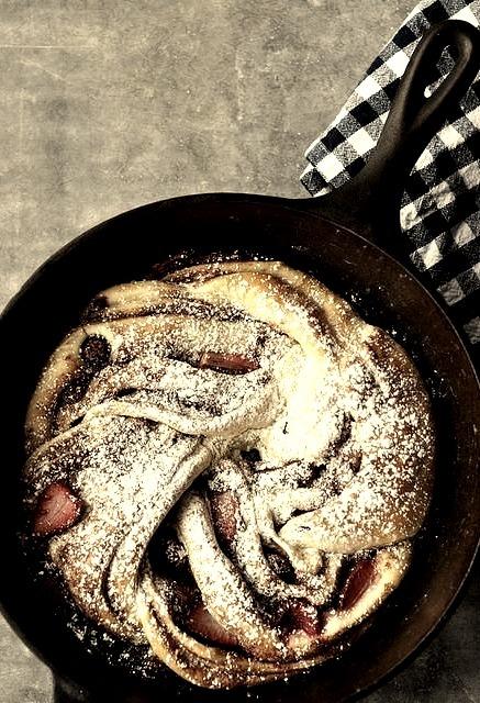 Triple Berry Cinnamon Swirl Bread (via http